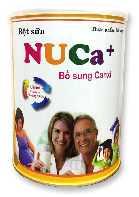 NuCa+ Bổ sung Canxi 400g