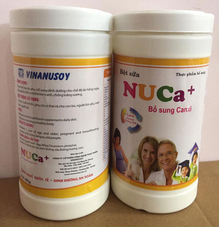 NuCa+ Bổ sung Canxi 800g