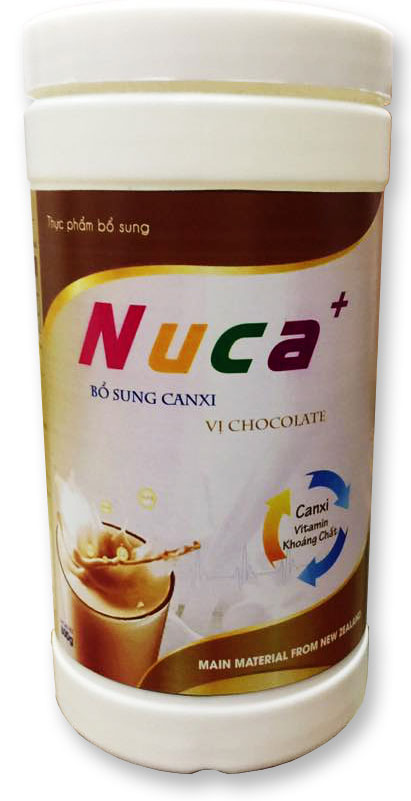 NuCa+ 800g Chocolate